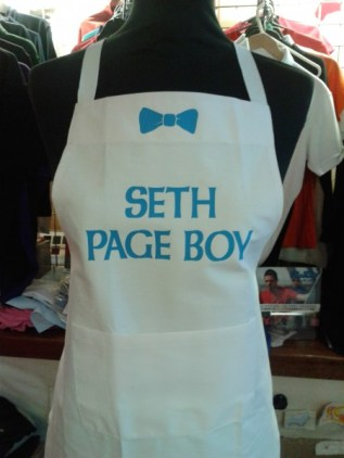 Custom apron from £12